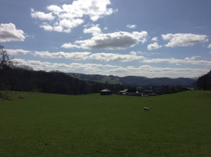 Above Llanrwst towards Llanddoged