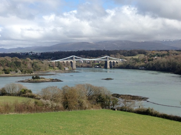 The Menai Bridge