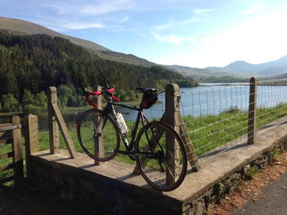 Bike by Llyn Mymbyr (Plas y Brenin)