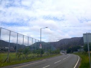 A view of Blaenau Ffestiniog