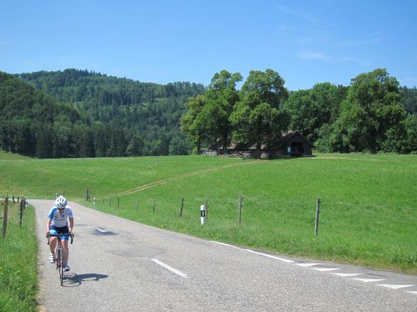 Making my way through Switzerland...slowly